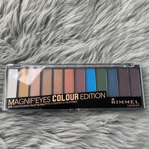 Rimmel Magnif'Eyes Colour Edition Palette NEW